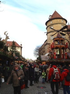 Stuttgart's Weihnachtsmarkt, one of the largest in Germany.