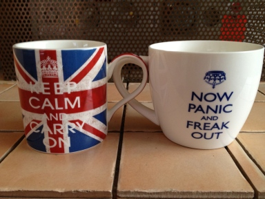 It was one of those days where I didn't quite know which mug to use.