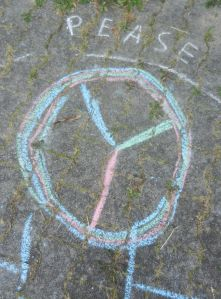 We teach Peace but sometimes our students struggle to spell it.