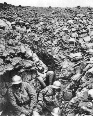A French regiment at Verdun (c/o wikipedia)