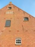 The horse barn.