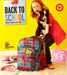 Argh!  Attack of the Back-to-School ads.